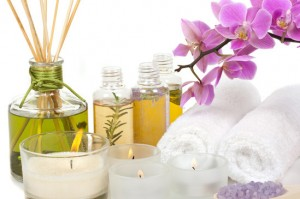 Spa and aromatherapy oils