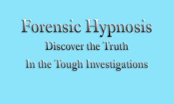 Forensic Hypnosis